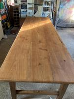 French Three Plank Cherry Wood Table (5 of 6)
