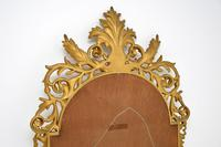 Large Mid Century French Carved Giltwood Mirror (9 of 10)