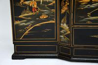 Art Deco Lacquered Chinoiserie Drinks Cabinet / Sideboard (15 of 16)