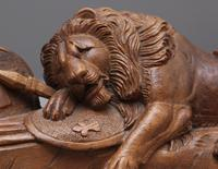 19th Century Carving of the Lion of Lucerne (9 of 9)