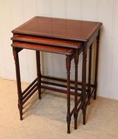 Mahogany Nest of Three Tables (8 of 11)