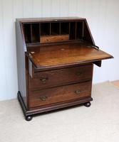 Solid Oak Bureau (4 of 6)