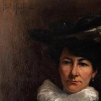 Paul-Antoine Hallez, Portrait of Lady with Umbrella (8 of 10)