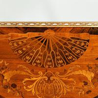 French demi-lune rosewood bow and arrow table by Georges-François Alix (10 of 11)