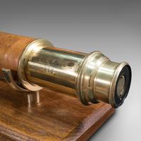 Antique Terrestrial Telescope, English, Single Draw Refractor, Nsl, Victorian (8 of 12)