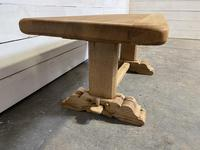 French Farmhouse Bleached Oak Coffee Table (9 of 9)