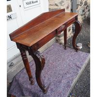 Narrow Scottish Oak Console Hall Table (4 of 7)