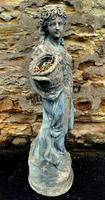 Large Composition Stone Figure / Garden Statuary (2 of 7)