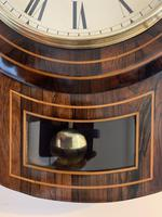 Rosewood Late Victorian Fusee Timepiece (11 of 11)