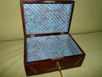 Inlaid Rosewood Jewellery / Table Box c.1860 (7 of 8)