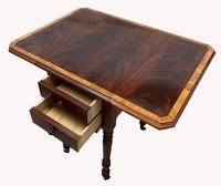 Pair of Superb Flame Mahogany Victorian Bedside Tables (8 of 8)