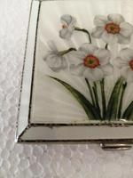Wonderful Silver Mounted Guilloche Enamel Powder Compact (9 of 9)
