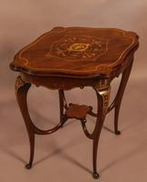 Quality Inlaid Window Table (4 of 4)