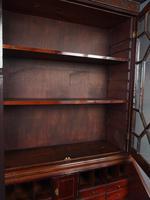 Antique George III Mahogany Bureau Bookcase (7 of 12)