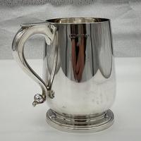 George V Sterling Silver Pint Mug Birmingham 1929 Suckling Ltd (7 of 7)