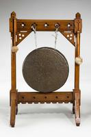 19th Century Oak Framed Gong (2 of 4)