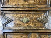 18th Century Antique Oak Chest on Stand (7 of 9)