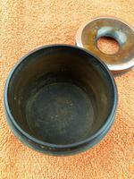 Antique Sterling Silver Hallmarked Hair Tidy Pot Bakelite (6 of 10)