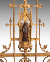 Complex Mid 19th Century Cast Iron Hall / Stick Stand (4 of 8)