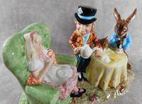 Royal Doulton, Beswick  Ware, Limited Edition, The Mad Hatter's Tea Party Tableau (4 of 12)