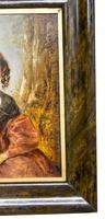 Victorian Oil Painting - Portrait of a Lady with Wringlets (6 of 9)