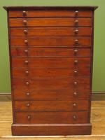 Antique Victorian Collectors Specimen Chest of Drawers (10 of 18)