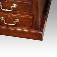 Edwardian Mahogany Large Pedestal Desk (10 of 13)
