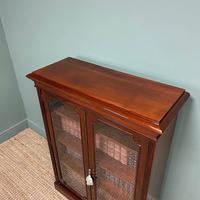 Stunning Quality Victorian Glazed Mahogany Bookcase (3 of 7)