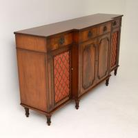 Regency Style Mahogany Grill Front Sideboard (3 of 12)