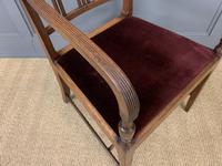 Set of 8 Georgian Mahogany Dining Chairs (4 of 16)