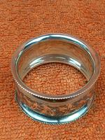 Antique Sterling Silver Hallmarked Napkin Ring 1901 John Rose (3 of 10)