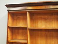 Victorian Mahogany Open Bookcase (5 of 11)