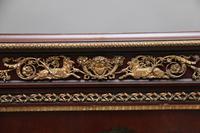 19th Century Decorative French Mahogany Cabinet (9 of 10)