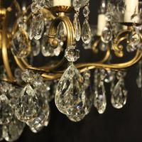French Gilt & Crystal 12 Light Antique Chandelier Oka04051 (4 of 10)