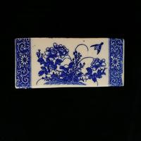 Antique Qing Dynasty Chinese Blue & White Opium Pillow (5 of 7)