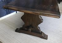 Large Oak Refectory Table (8 of 9)