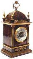 Incredible French Shell Mantel Clock French Cubed 8-day Miniature Bracket Clock (3 of 11)