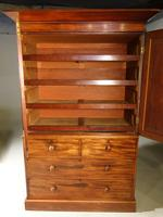 A Finely Figured, Early Victorian, Mahogany Press (3 of 4)