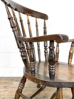 Antique 19th Century Penny Armchair (7 of 9)