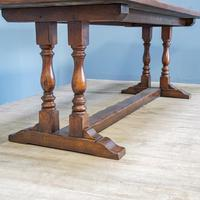 Refectory Table and 8 Ladderback Chairs (6 of 11)