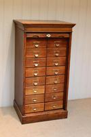 Solid Oak Lebus Tambour Front Filing Cabinet (2 of 10)