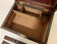 Antique Victorian Rosewood Vanity Jewellery Box (8 of 16)