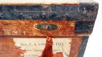 WW1 Era Marshall Campaign Chest / Trunk, Labels & Provenance (8 of 23)