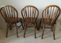 Set of Three Hoop Back Windsor Chairs (5 of 5)