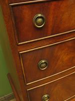 Narrow Antique Reproduction Reprodux Chest of Drawers by Bevan Funnell (6 of 14)