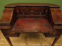 Antique 19th Century Carlton House Desk Mahogany Writing Table of Immense Character (12 of 30)