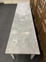Large 19th Century French Zinc Top Table (7 of 13)