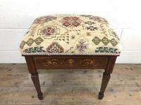 Antique Victorian Rosewood Piano Stool (12 of 14)