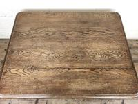 Early 20th Century Antique Oak Coffee Table (12 of 12)