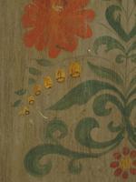 Antique Swedish Style Painted Folk Art Wardrobe Armoire (5 of 22)